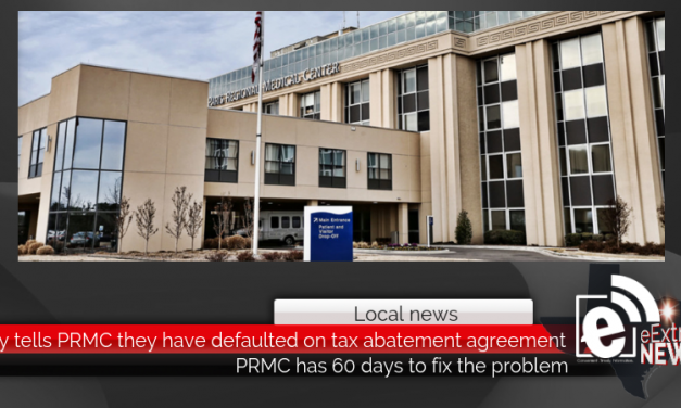 City tells PRMC they have defaulted on tax abatement agreement