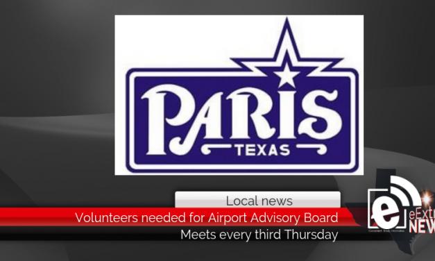 Volunteers needed for Airport Advisory Board in Paris
