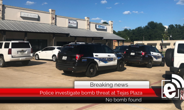 Breaking: Police investigate bomb threat at Tejas Plaza