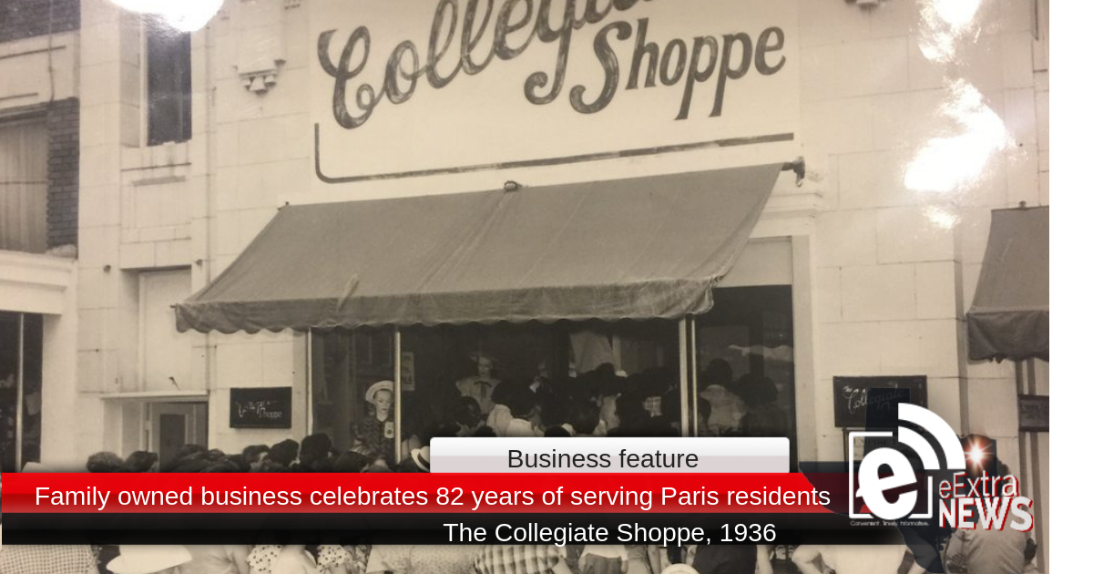 Family owned business celebrates 82 years of serving Paris residents