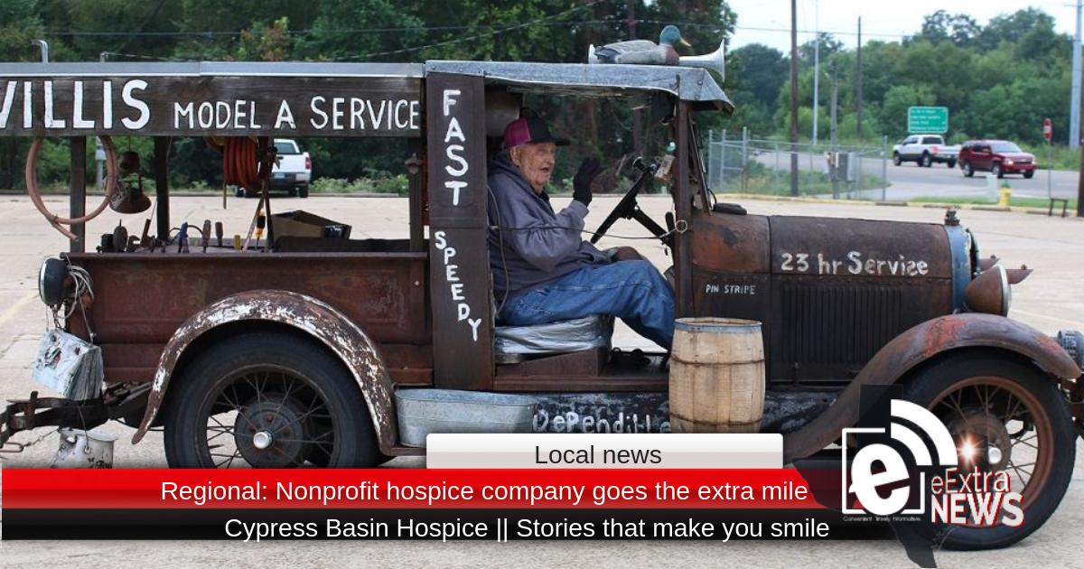 Regional: Nonprofit hospice company goes the extra mile