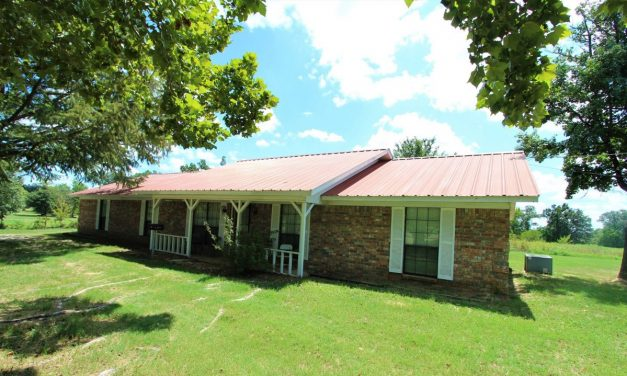 Brick Country Home for Sale in Powderly, Texas || $159,900