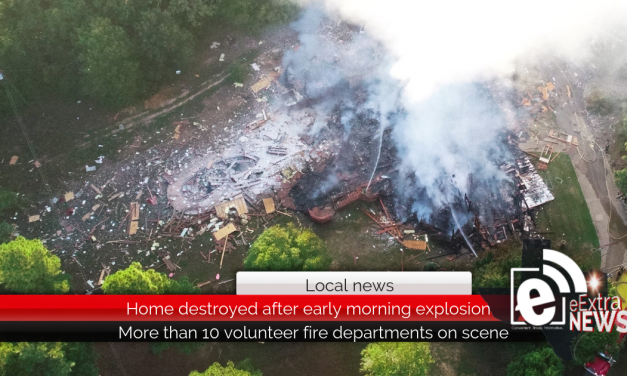 Home destroyed after early morning explosion