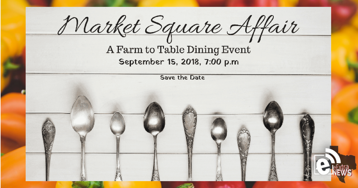 Less than ten tickets available for Market Square Affair