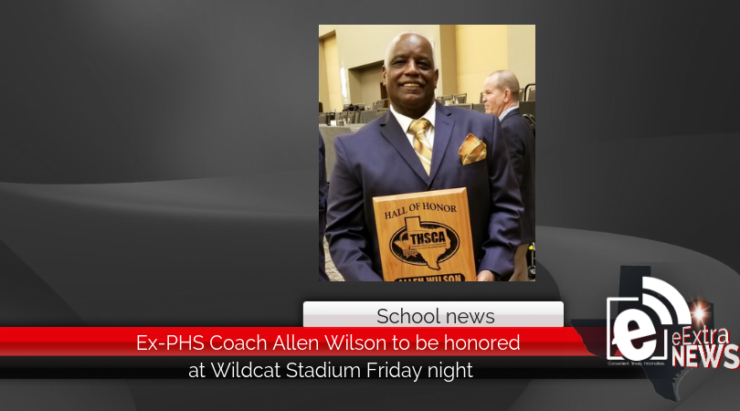 Ex-PHS Coach Allen Wilson to be honored at Wildcat Stadium Friday night