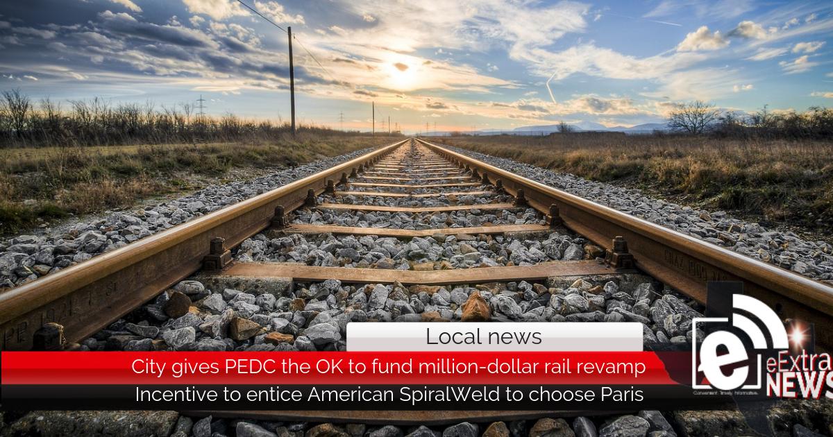 City gives PEDC the OK to fund million-dollar rail revamp
