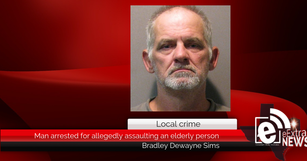 Man arrested for allegedly assaulting an elderly person