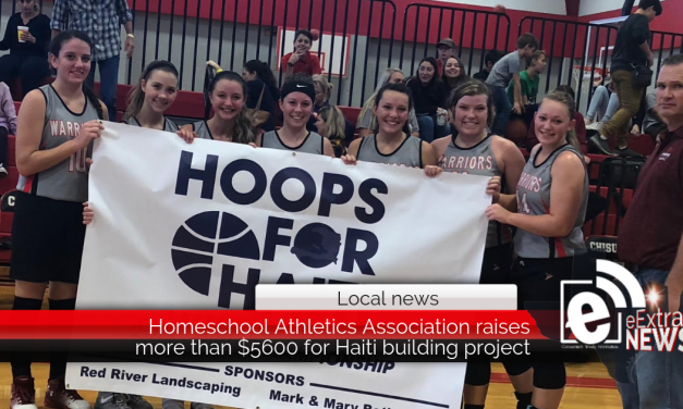 Homeschool Athletics Association raises more than $5600 for Haiti building project