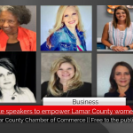 Female keynote speakers to empower Lamar County women || Free to the public