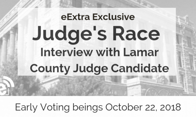 Judge's race || Interview with Lamar County Judge Candidate