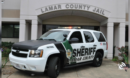Lamar County Sheriff's inmate booking report || May 23, 2019