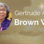 Gertrude Alene Brown Webb of Little Elm, Texas