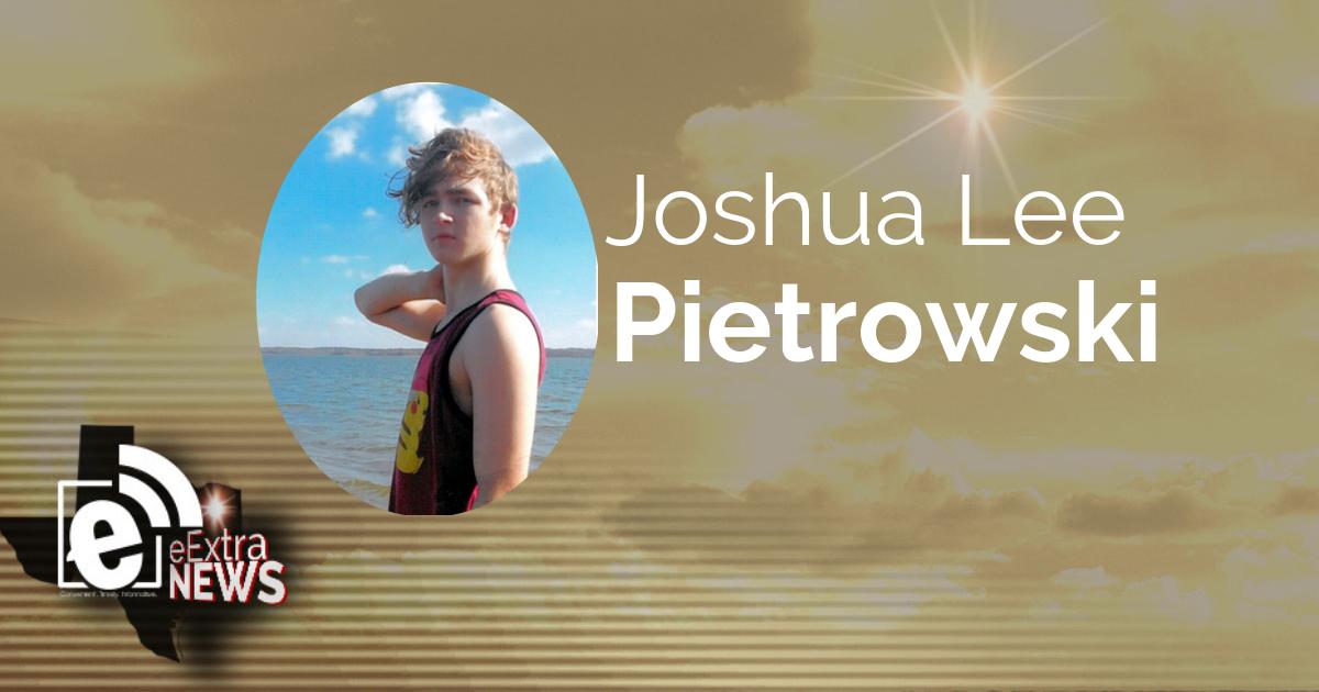 Joshua Lee Pietrowski of Fulbright, Texas