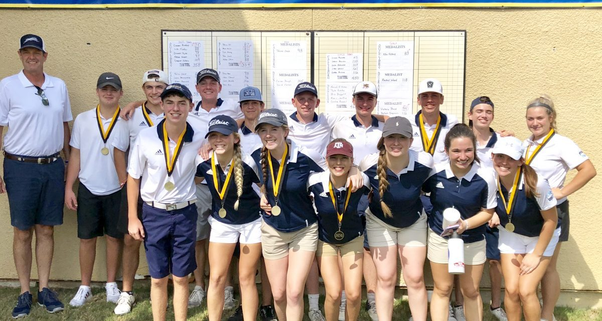 Paris High Golf teams bring home second in Denison Fall Invitational