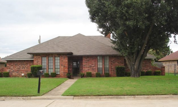 Updated three bedroom home for sale in NE Paris, Texas    $185,000