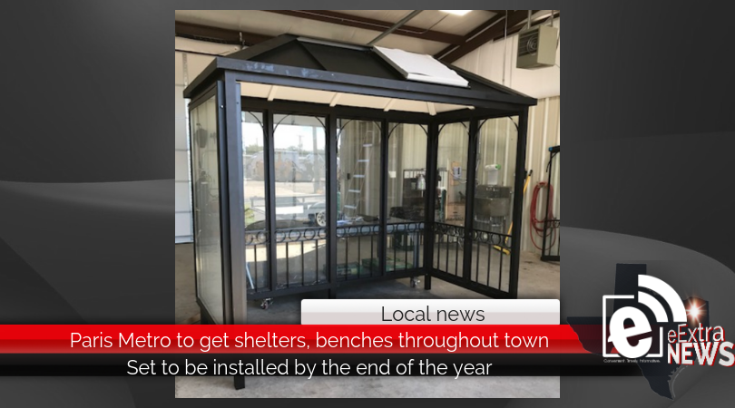 Paris Metro to get shelters, benches throughout town