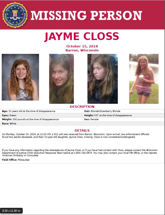 jayme closs found - photo #19