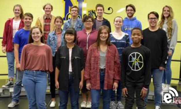 North Lamar High School students named to the All-Region Choir