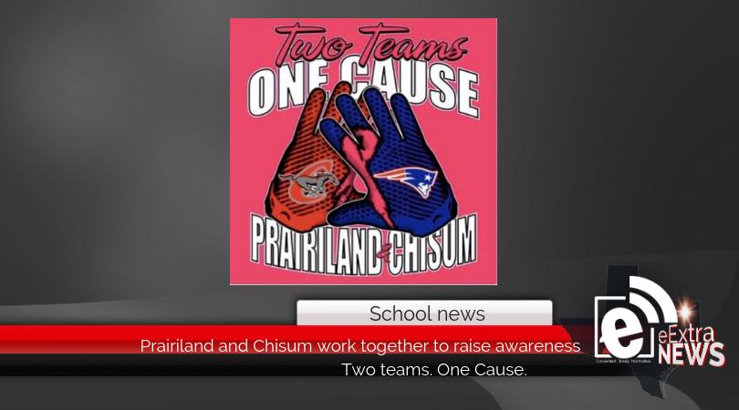 Prairiland and Chisum work together to raise awareness