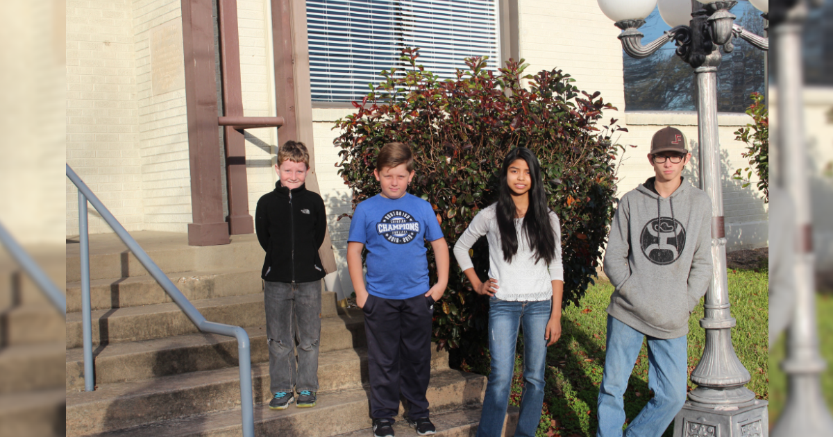 Roxton ISD students of the month – November, 2018