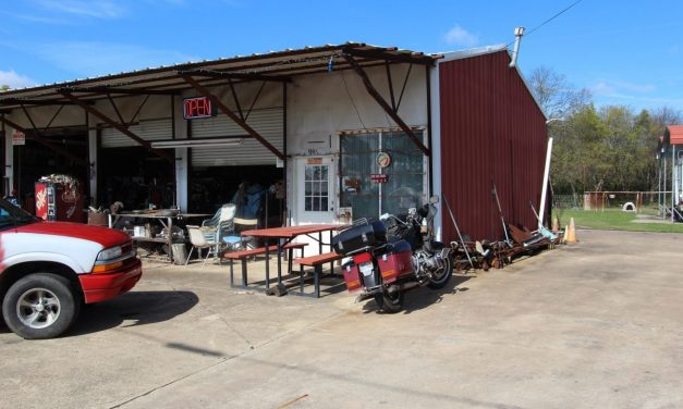 Productive Tire Shop and home for sale in Northeast, Texas || $345,000