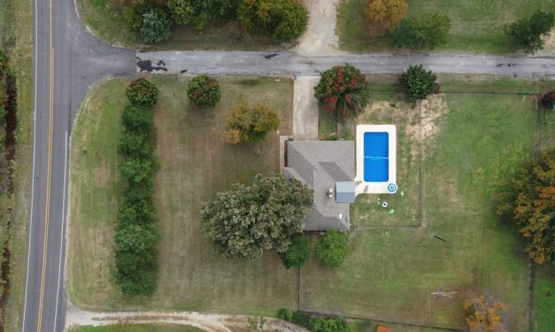 Three bedroom home for sale in Powderly, Texas    $229,900