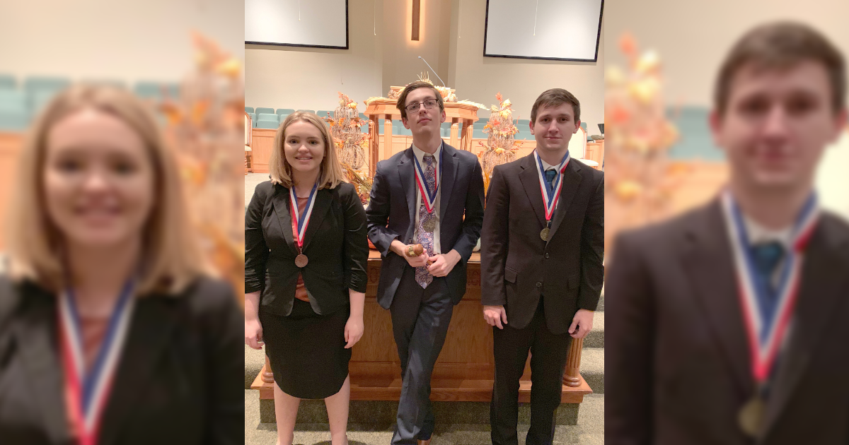 North Lamar's top Student Congress competitors head to state