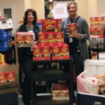 Paris ISD 'Stuffed the bus' for the Food Pantry