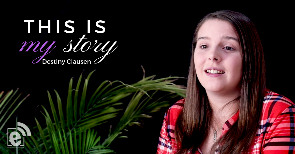This is my story || Pancreatic Cancer Survivor Destiny Clausen