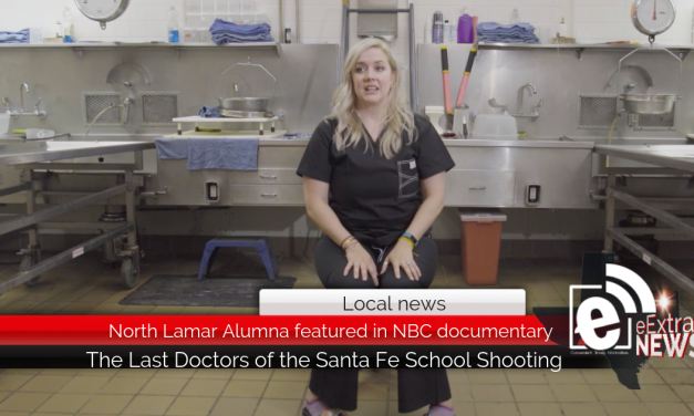 North Lamar Alumna featured in NBC documentary || The Last Doctors of the Santa Fe School Shooting