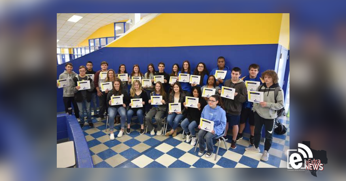 North Lamar High School recognizes outstanding students and staff