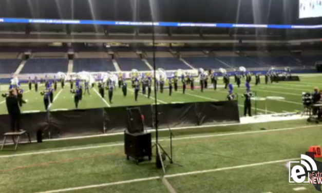 North Lamar performs at state marching band contest || VIDEO