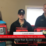 Paris EMS buys and donates heaters to Meals-On-Wheels