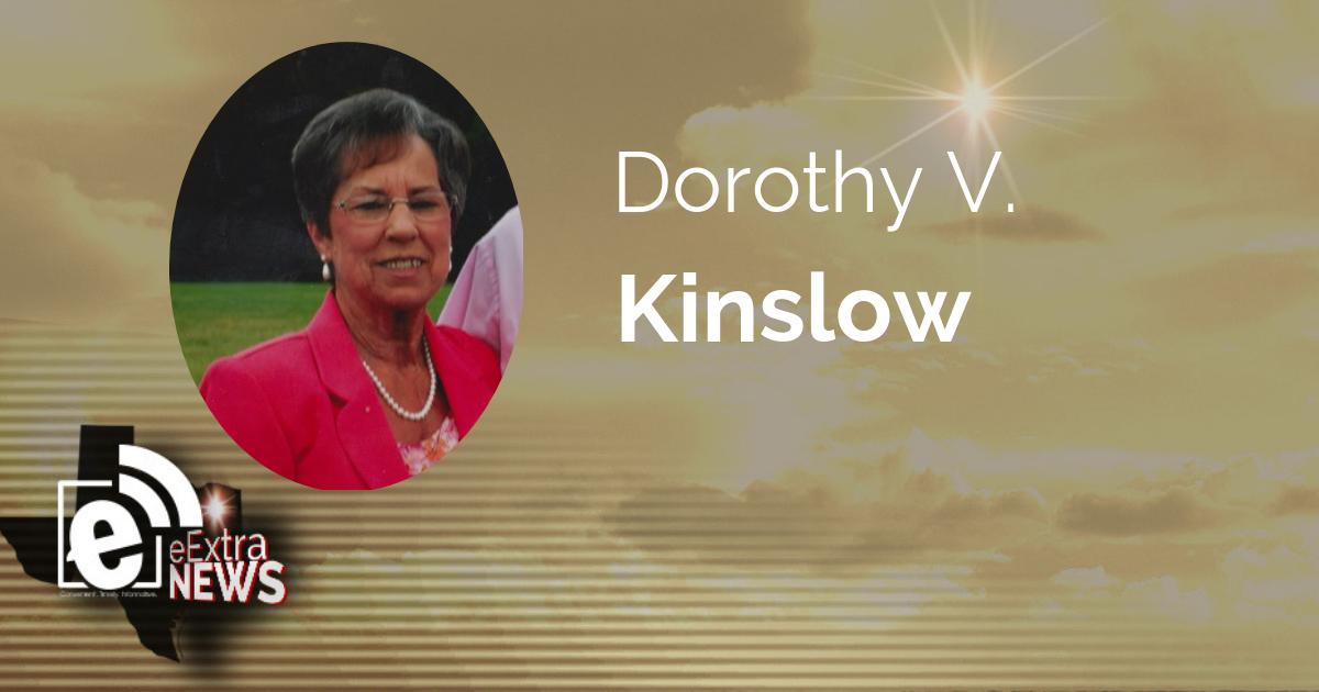 Dorothy V. Kinslow of Reno, Texas