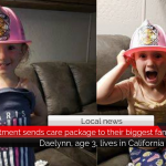 Paris Fire Dept. sends care package to their biggest fan