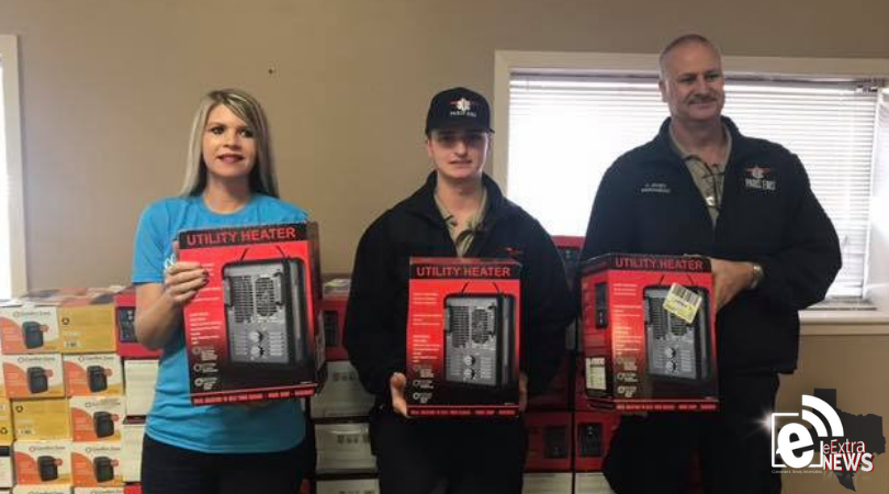 Paris EMS challenges community to deliver heaters to those in need