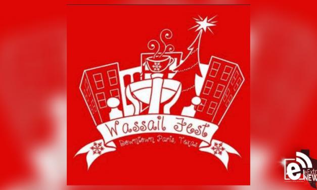 Wassail fest is set for downtown Paris on Dec. 8, 2018