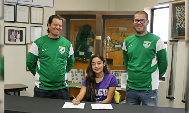 PJC athlete signs with SAGU
