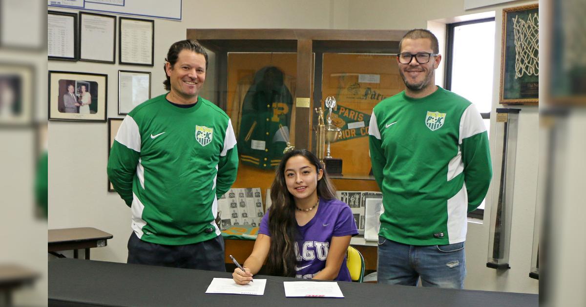 PJC athlete signs with SAGU