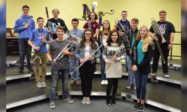 North Lamar High School students named to Area Band