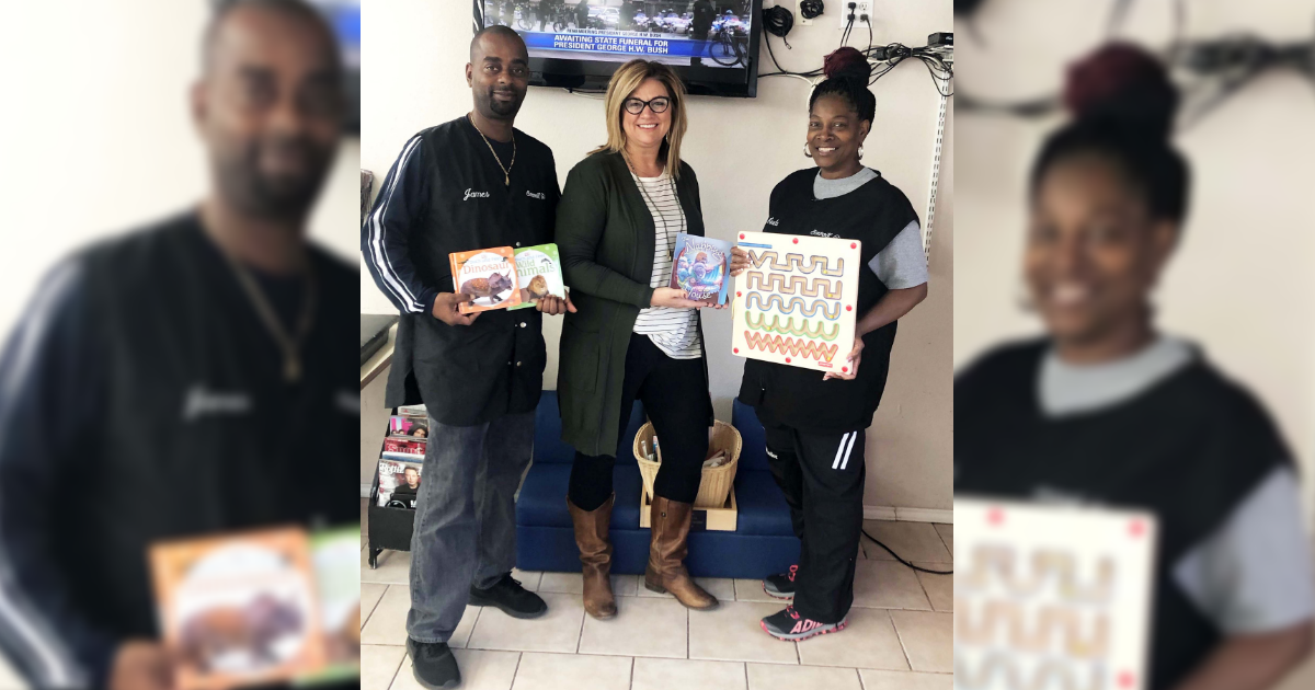 T.G. Givens partners with Smooth Cuts for reading spot for children