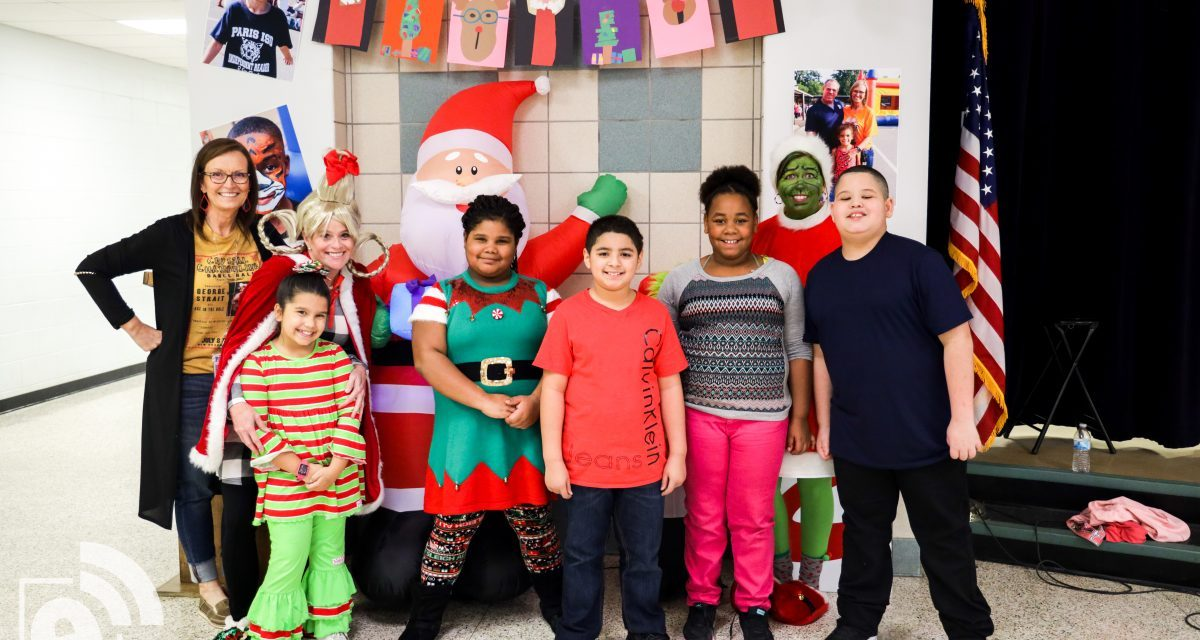 Teachers bring 'Whoville' to Justiss Elementary