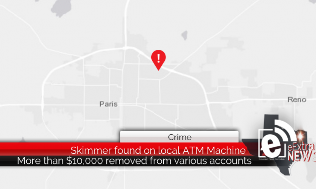Skimmer found on local ATM machine || More than $10,000 removed from accounts