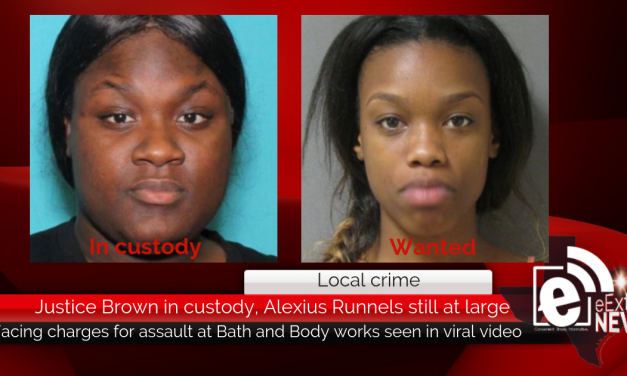 Justice Brown in custody, Alexius Runnels still at large