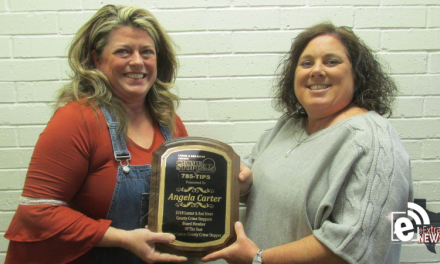 Crime Stoppers names Board Member of the Year || Angela Carter