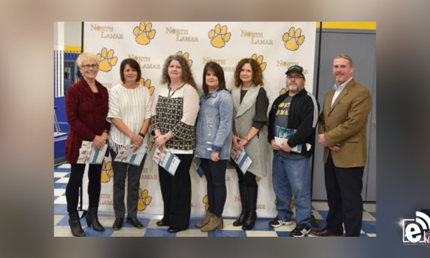 NLISD Board makes presentation to Teachers of the Year
