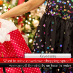 Want to win a downtown shopping spree? || Here's how to enter