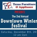 Downtown Winter Festival set for Saturday, Dec. 8, 2018