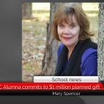 ETSU/TAMUC Alumna commits to $1 million planned gift