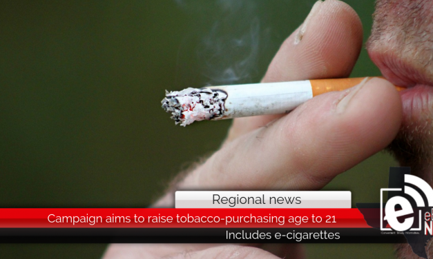 Campaign aims to raise tobacco-purchasing age to 21